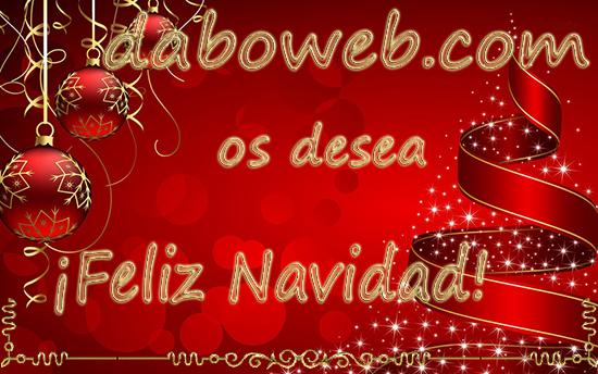 Feliz Navidad daboweb