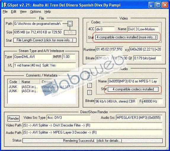 MPEG DIV3 MOTION TÉLÉCHARGER 4 DIVX LOW